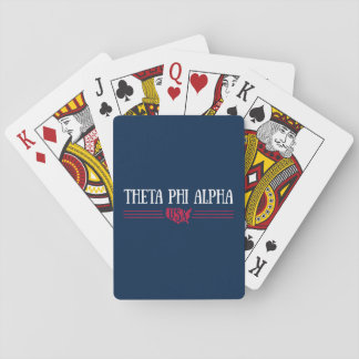 Theta Phi Alpha USA Playing Cards