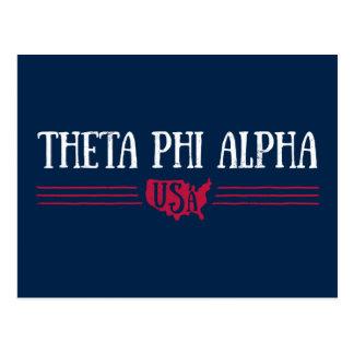 Theta Phi Alpha USA Postcard
