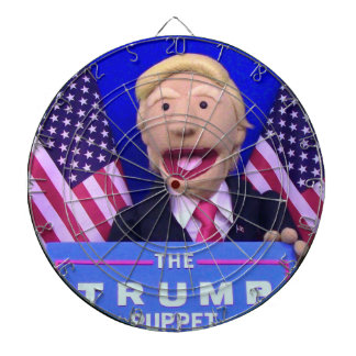 @TheTrumpPuppet Metal Cage Dartboard