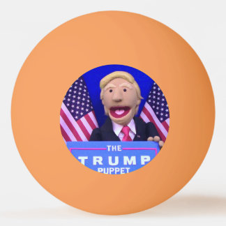 @TheTrumpPuppet Orange Ping Pong Ball