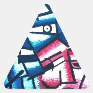 TheUnpleasantriesofLovePolitics Triangle Sticker