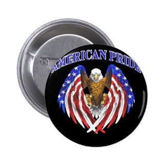 they american pride 6 cm round badge