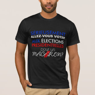 They are not serious TO VOTE for MACAROON B Tee