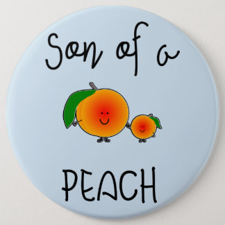 They are of to PEACH 6 Cm Round Badge
