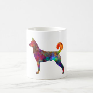 they canaan dog in watercolor 2 coffee mug