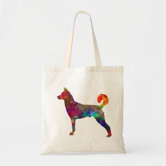 they canaan dog in watercolor 2 tote bag