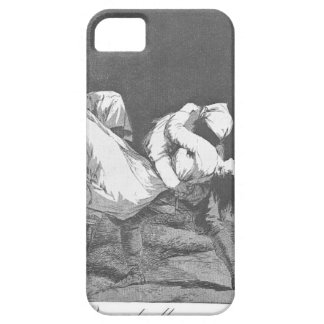 They Carried her Off by Francisco Goya iPhone 5 Cover