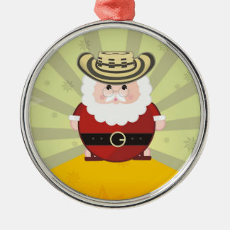 they colombian chirstmas metal ornament
