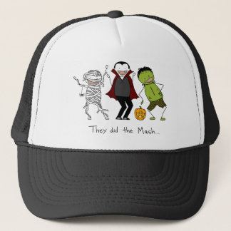 They did the Mash - Halloween Trucker Hat