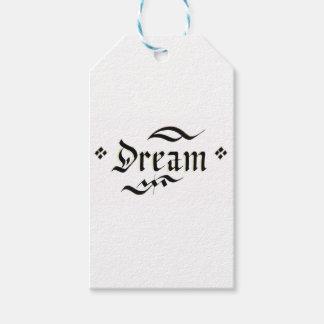 they dream gift tags