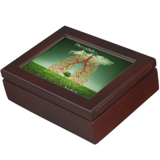 They exhale, I inhale Keepsake Box