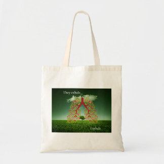 They exhale, I inhale Tote Bag