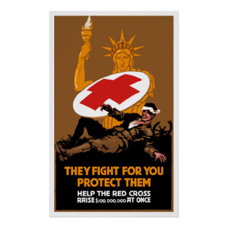 They Fight For You Protect Them Poster