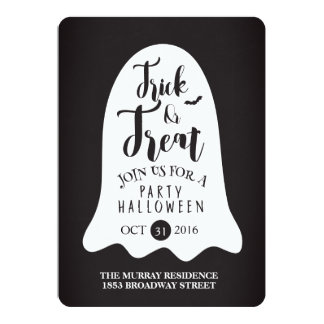 they halloween invitation card