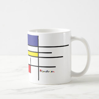 they mondrian coffee mug