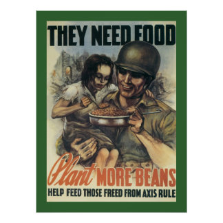 They Need Food Poster