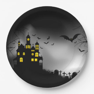 They Say Halloween Party Paper Plates
