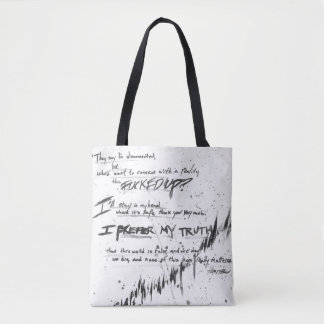 They say I'm disconnected Tote Bag