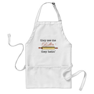 They see me Rollin' - Vintage Funny Baker Apron