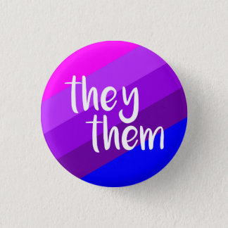 They/Them Pronoun Badge