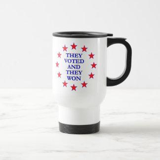 They Voted They Won Coffee Mug