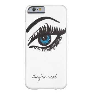 they're real LASH iPhone 6 case