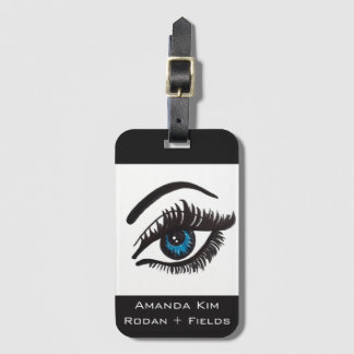 they're real LASH luggage tag