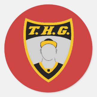 THG crest sticker