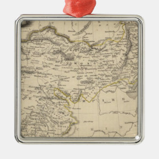 Thibet, Mongolia, and Mandchouria Metal Ornament