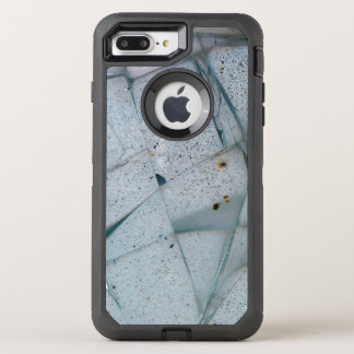 Thick Cracked Glass OtterBox Defender iPhone 8 Plus/7 Plus Case