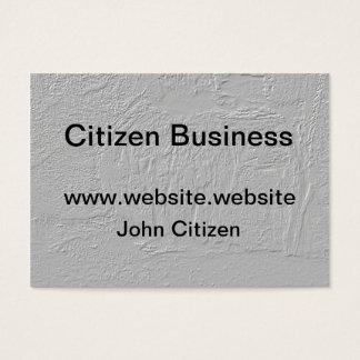 Thick gray texture business card