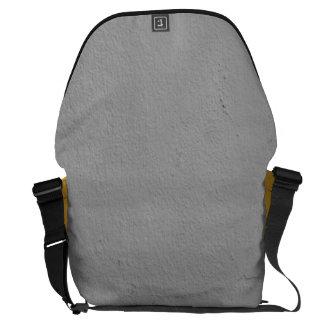 Thick Grey Paint Messenger Bag
