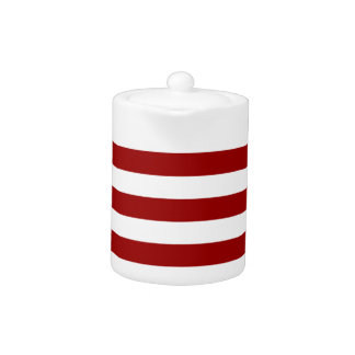 Thick Red and white lines, geometric pattern