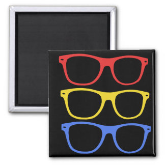thick rimmed glasses magnet