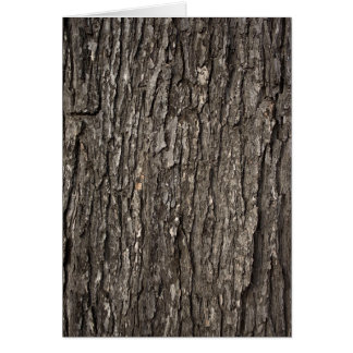Thick Tree Bark Card
