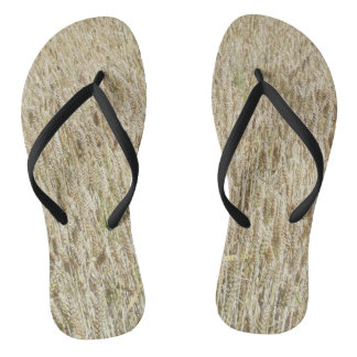 Thick Wheat Flip Flops