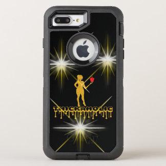Thickaholic, Black & Gold Otterbox Case