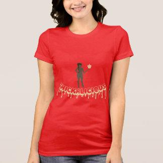 Thickalicious, Red & Tan Leggings T-Shirt