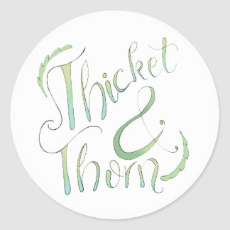 Thicket and Thorn Sticker