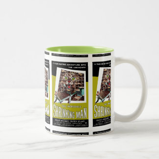 Thie Incredible Shrinking Man Two-Tone Coffee Mug