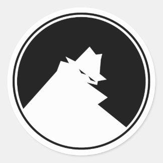 THIEF Negative Classic Round Sticker