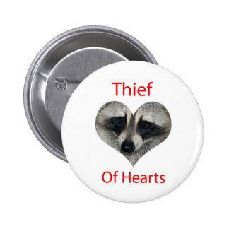 Thief Of Hearts 6 Cm Round Badge