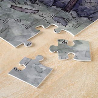 Thieves Guild Jigsaw Puzzle from Unreal Estate