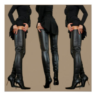 Thigh High Boot Models Poster