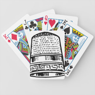 Thimble Bicycle Playing Cards