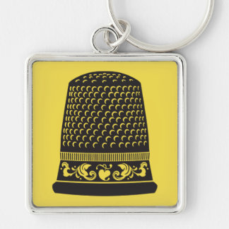 Thimble by FiberFlies Key Ring