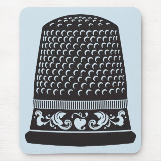 Thimble by FiberFlies Mouse Pad
