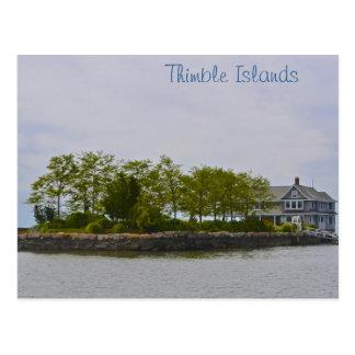 Thimble Island Postcard