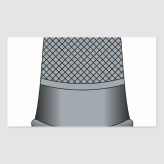 Thimble Rectangular Sticker