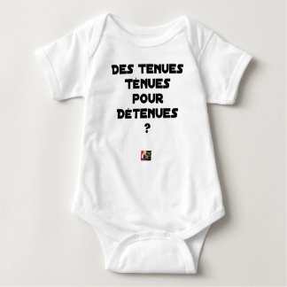 THIN BEHAVIOURS FOR HELD? - Word games Baby Bodysuit